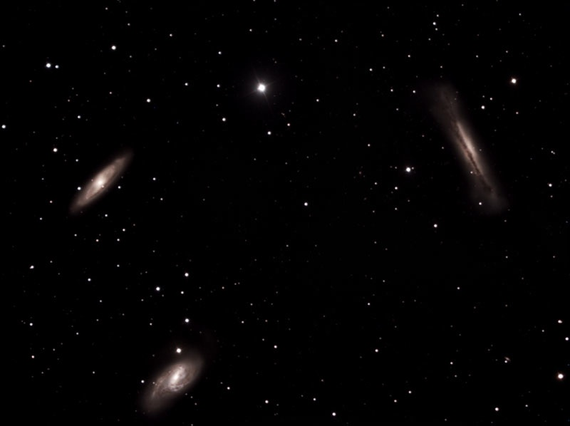 Astrophoto of the Month - Leo Triplet Galaxies
